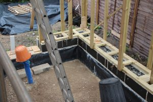 footing and base plate