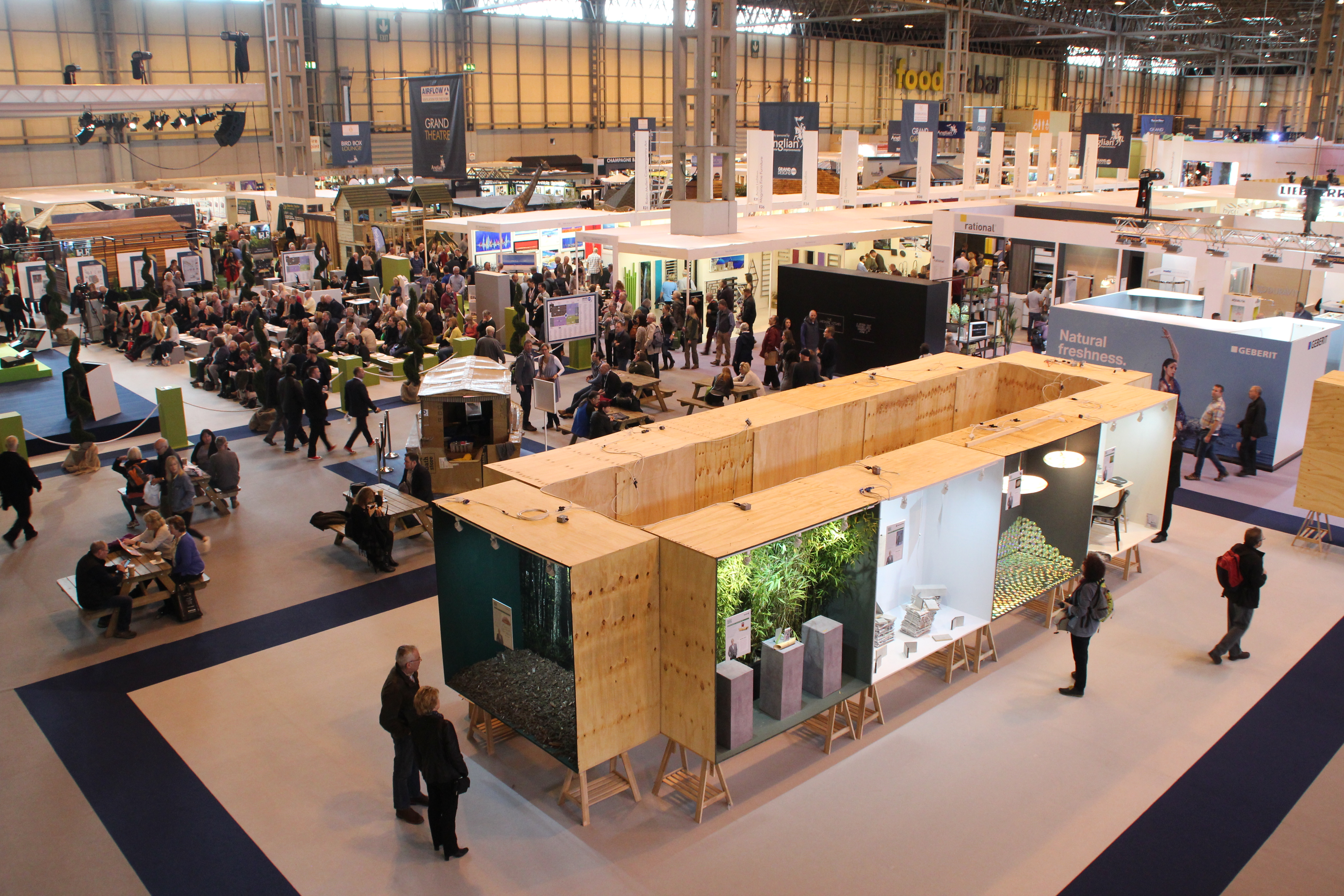 Grand designs live / self build on a shoestring