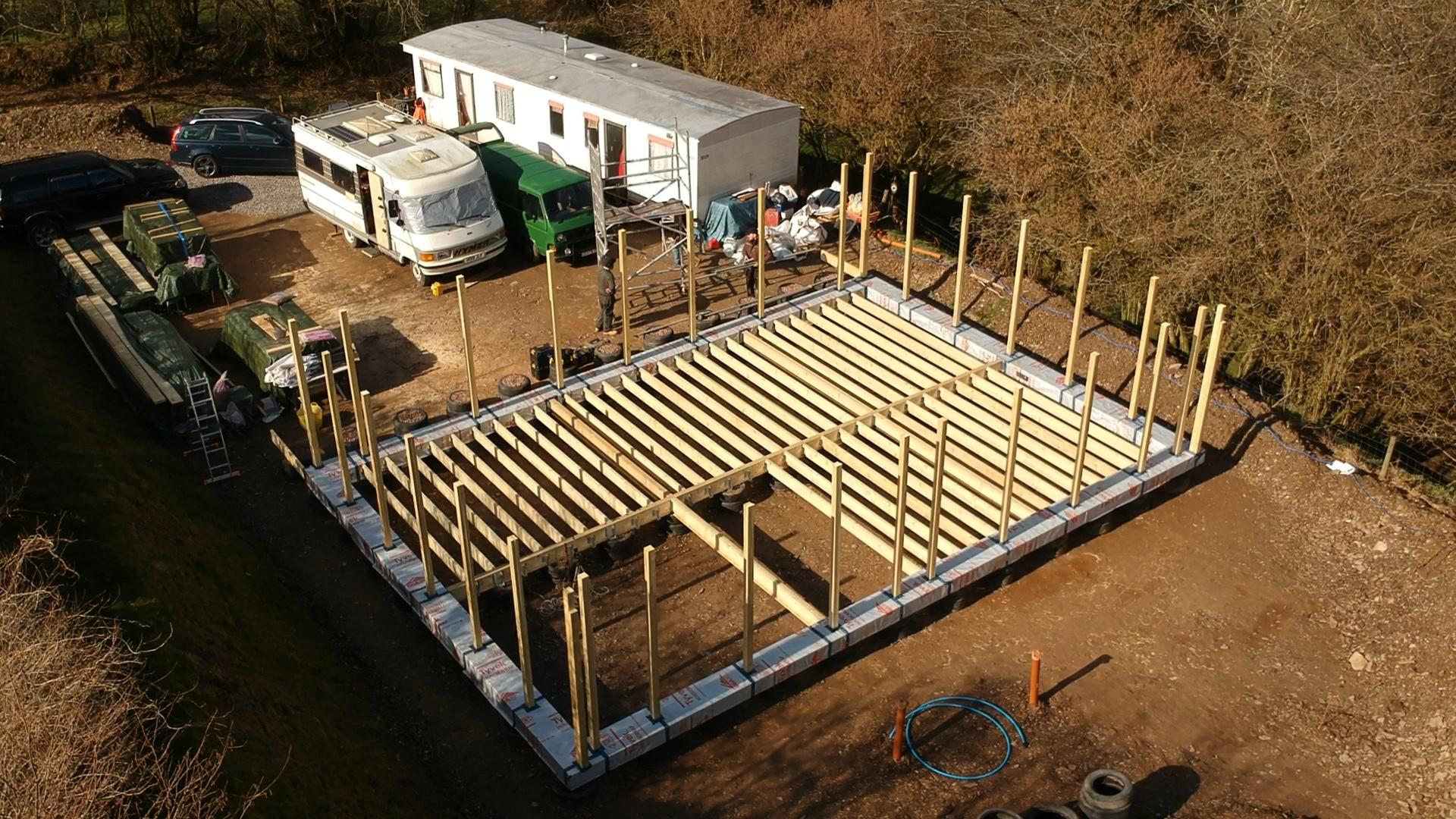 Exmoor straw bale house