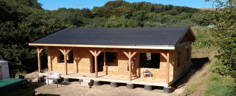 Exmoor straw house